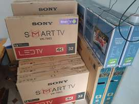 """Sony 24"""" full HD led TV with one year of replacement guarantee"""
