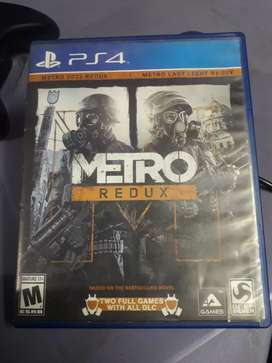 Metro Redux Collection (PS4) 2 in 1.