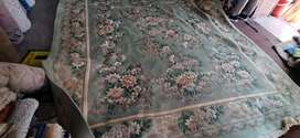 Chinese hand made carpet size 8 by 11