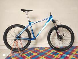 Frame set + wheelset