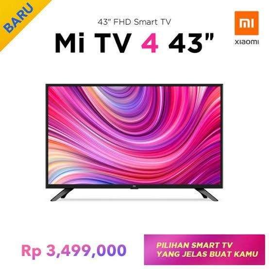 Xiaomi Mi TV 4 43 Inch Mi Store Kota Kasablanka 0