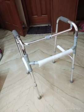 Light weight walker sparingly used..