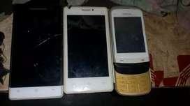 Karbonn ka 2 mobile.nokia ka1 sliding touch mobile hai.sirf batery nah