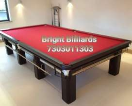 Billiards tables manufacturing standard size 6x12