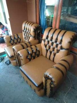 Sofa smok coklat 211
