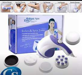 Relax & spin tone handheld body massager