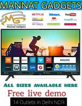"New 55"" 4k Ultra Google Assisted LED TV"