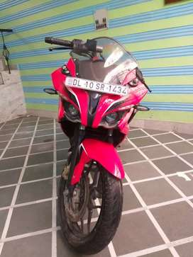 Red color RS 200 3800 KM @just 1lakh