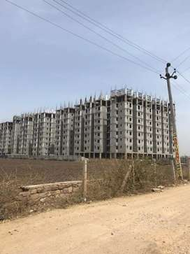 A project on baran road near an under construction allen building