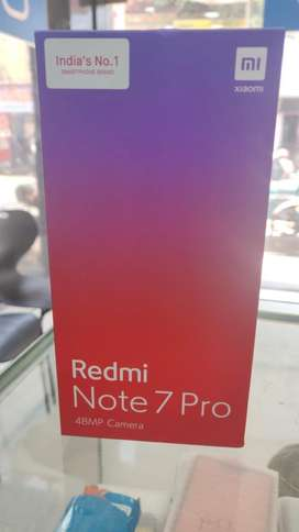 REDMI NOTE 7 PRO 4GB 64GB BLUE SEALED PACK FOR SALES