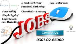 We are providing multiple home base online part time jobs