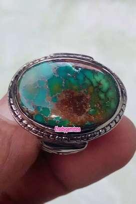 Batu Pirus Persia serat Kura-Pirus Persia Tiga warna serat Jala