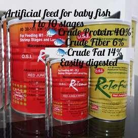 Rotemia fish food (OSI )