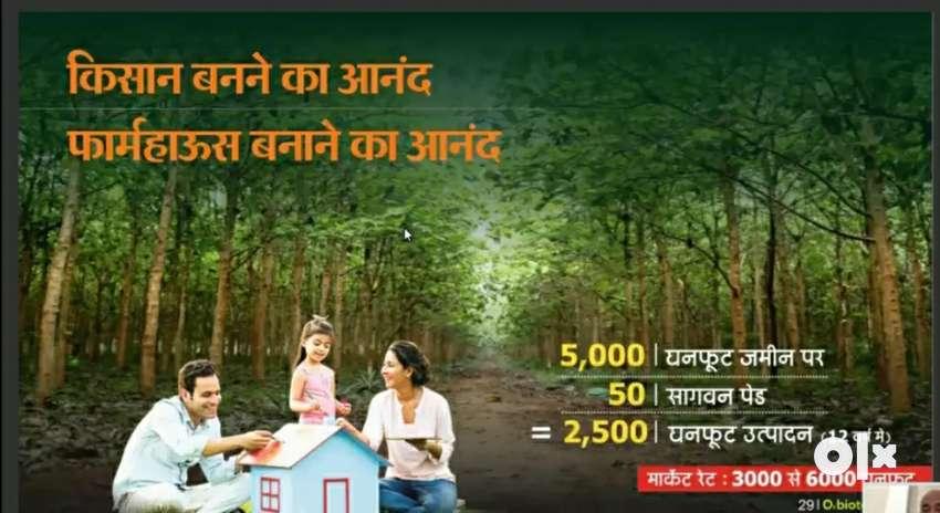 5000/10000 Sqft. FARM PLOTS  ON NAGPUR - CHANDRAPUR NATIONAL HIGHWAY 0