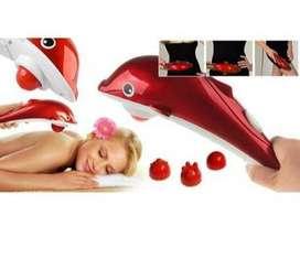 Alat Pijat Dolphin Massager Not Infrared Infra Merah Besar Dolpin Red