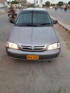 Cultus car 2015 for rent monthly
