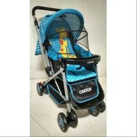 stroller babydoes crater / kereta dorong bayi murah