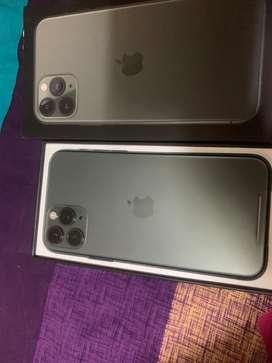 Apple iphone 11 pro  midnight green  (64gb) 2 days used