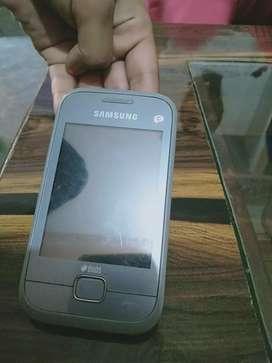 Samsung Rex 60 1 year used phone
