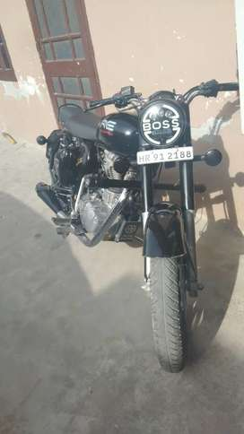 Royal Enfield classic modified bullet