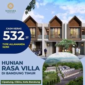 Jual Rumah Rasa Villa Termurah di Kota Bandung View Gunung Manglayang