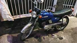 <Motor Langka> Suzuki GP100 GP 100 th 1978 Plat AB