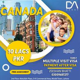 Canada Family Visa with Legal Process at Low Cost