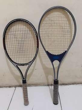 2 Raket tenis YAMAHA HI-FLEX JUNIOR & DUNLOP Profesional X10 masih ok