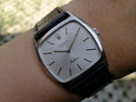 Ori 70s Rolex Cellini manual wind 18k solid White Gold mint condition