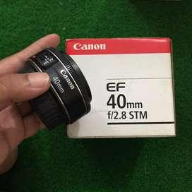 CANON lensa 40mm f/2.8 STM