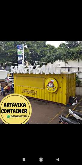 BOOTH SEMI CONTAINER,CONTAINER MAKANAN,CONTAINER USAHA