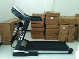 alat fitnes treadmill elektrik besar rumahan bisa COD