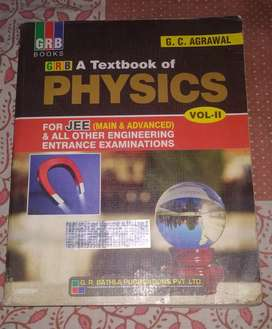 GRB TEXTBOOK OF PHYSICS vol-II 2016 edition IIT JEE/EAMCET/NEET/AIIMS