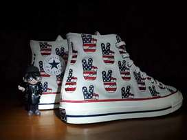 """CONVERSE CT 70s ELECTION DAYS """"SIGN PEACE"""""""