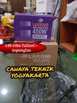 PROMO ONGKIR (CAHAYA TEKNIK) mesin las lakoni 450 watt lebih besar api