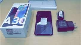 Samsung A30s Black colour just 20days old mobile urgent for sale