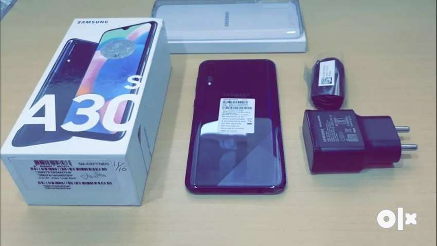 Samsung A30s Black colour just 20days old mobile urgent for sale 0
