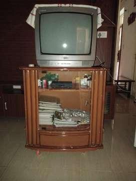 Wooden TV Trolly