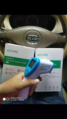 Jual cepat termometer infrared merk AICARE, harga banting