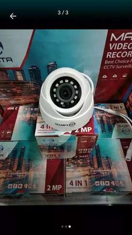 Paket Murah Harga Peromo 2 Camera Cctv + Pasang