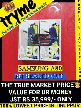 TRYME 8Gb RAM/ GALAXY A80 Jst SEALED Cut Full Kit Box