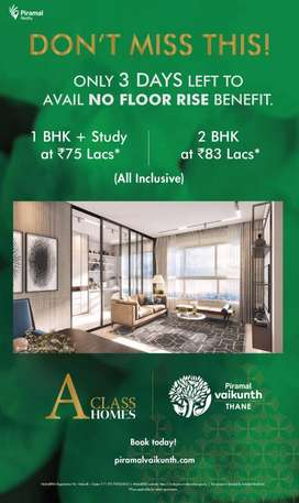 1.5 Bhk available for sale at Balkum Pada Thane west