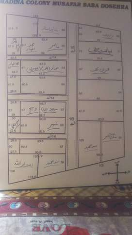 10 marla plot in madaina colony main nisata road dosehra musafarbaba