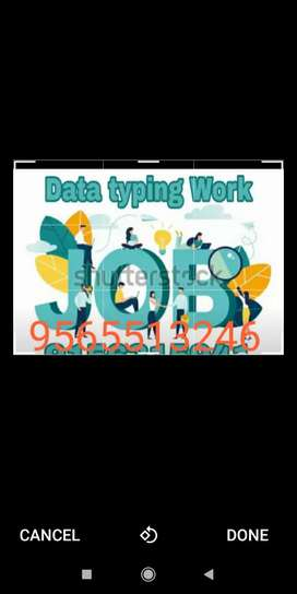 Get good payment with data typing work