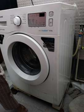 2years old best  condition front  loaded  washing  machine