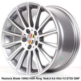Velg Mobil ROSTOCK BLADE 10993 HSR Ring 18 Grey Machine Face