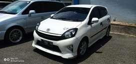 Toyota agya 2014 tipe G TRD