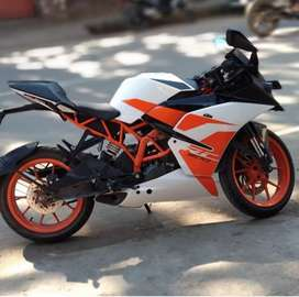 Ktm rc new condition