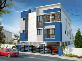 New 2 bhk flats for sale at Pammal, Eswaran Nagar