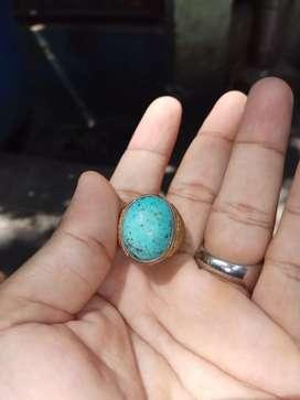 Batu pirus Persia natural serat halus